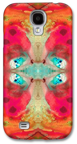 Dreamscape Galaxy S4 Cases - Charmed - Abstract Art by Sharon Cummings Galaxy S4 Case by Sharon Cummings