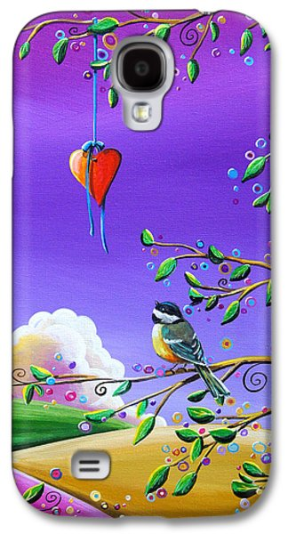 Dreamscape Galaxy S4 Cases - Cherish Galaxy S4 Case by Cindy Thornton