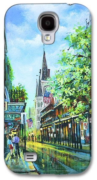 French Quarter Paintings Galaxy S4 Cases - Chartres Afternoon Galaxy S4 Case by Dianne Parks