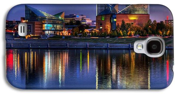 Tennessee Landmark Galaxy S4 Cases - Chattanooga Aquarium Galaxy S4 Case by Mountain Dreams