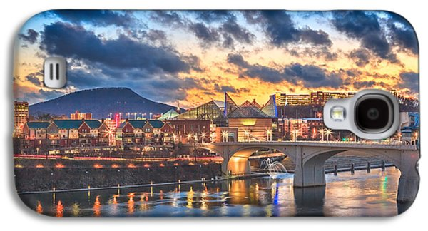 Chattanooga Evening After The Storm Galaxy S4 Case by Steven Llorca