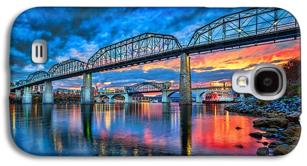 Queen Galaxy S4 Cases - Chattanooga Sunset 3 Galaxy S4 Case by Steven Llorca