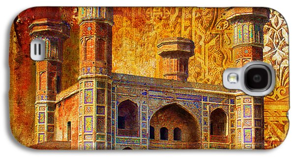 Museum Paintings Galaxy S4 Cases - Chauburji Gate Galaxy S4 Case by Catf