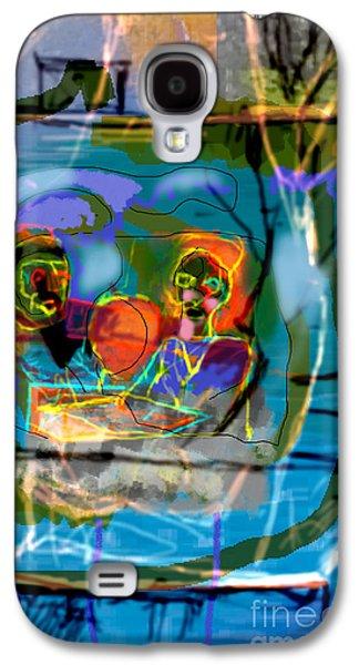 Inner Self Galaxy S4 Cases - Chavrusa 2 Galaxy S4 Case by David Baruch Wolk