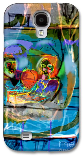 Inner Self Galaxy S4 Cases - Chavrusa 3a Galaxy S4 Case by David Baruch Wolk