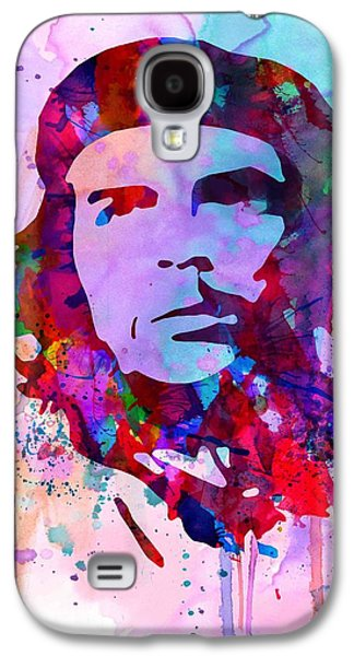 Civil Rights Galaxy S4 Cases - Che Guevara Watercolor 2 Galaxy S4 Case by Naxart Studio