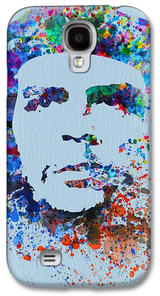 Leaders Galaxy S4 Cases - Che Guevara Watercolor Galaxy S4 Case by Naxart Studio