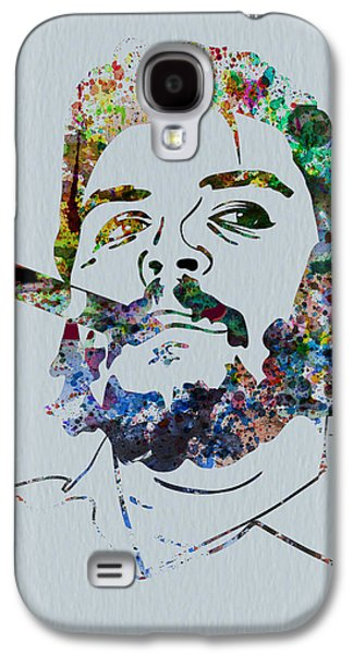 Che Watercolor Galaxy S4 Case by Naxart Studio