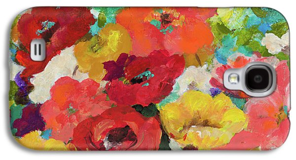 Cheerful Flowers II Galaxy S4 Case by Patricia Pinto