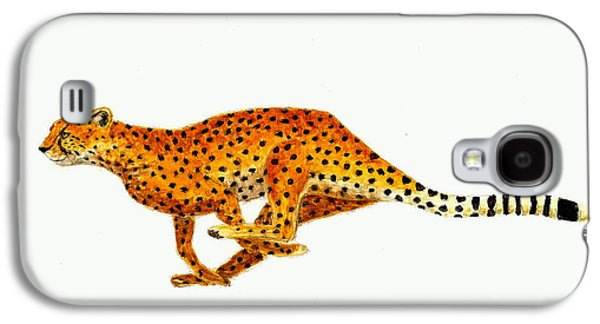 Cheetah Galaxy S4 Case by Michael Vigliotti