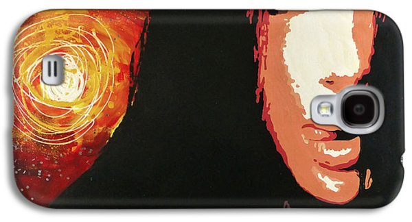 Bono Paintings Galaxy S4 Cases - Cher Galaxy S4 Case by Jack Hanzer Susco