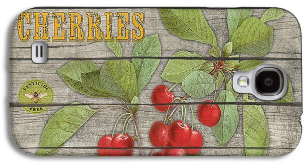 Locally Grown Galaxy S4 Cases - Cherries-JP2675 Galaxy S4 Case by Jean Plout