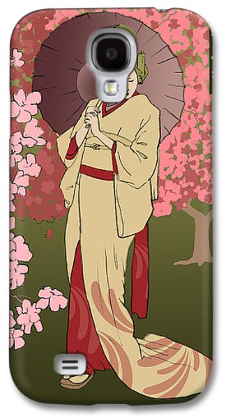 Cherry Blossom Galaxy S4 Case by H James Hoff