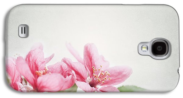 Cherry Blossoms Galaxy S4 Cases - Cherry Blossom Galaxy S4 Case by Jelena Jovanovic