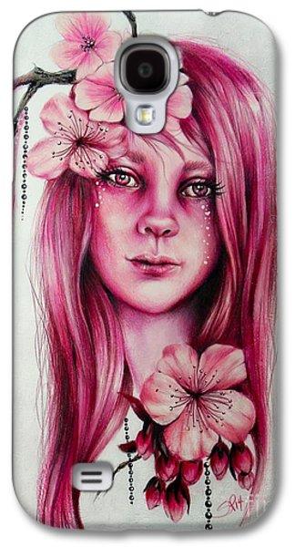 Cherry Blossom Galaxy S4 Case by Sheena Pike