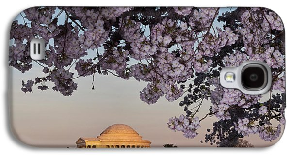 Cherry Blossom Tree With A Memorial Galaxy S4 Case by Panoramic Images