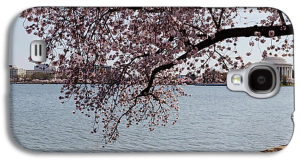 Cherry Blossom Trees With The Jefferson Galaxy S4 Case by Panoramic Images