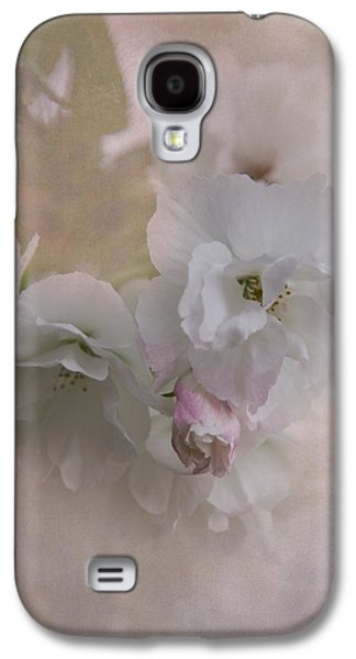 Cherry Blossoms Galaxy S4 Cases - Cherry Blossoms Galaxy S4 Case by Angie Vogel