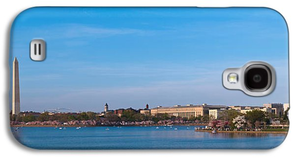Cherry Blossoms Galaxy S4 Cases - Cherry Blossoms At The Tidal Basin Galaxy S4 Case by Panoramic Images