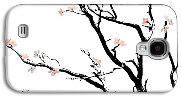 Cherry Blossoms Tree Galaxy S4 Case by Gina Dsgn