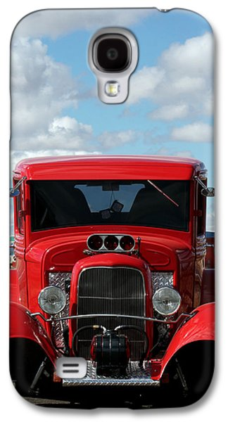 Wine Cart Galaxy S4 Cases - Cherry Cart Galaxy S4 Case by Lorenzo Williams