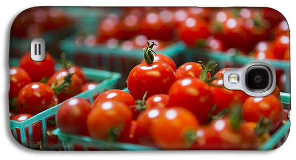 Farmstand Galaxy S4 Cases - Cherry Tomatoes Galaxy S4 Case by Caitlyn  Grasso