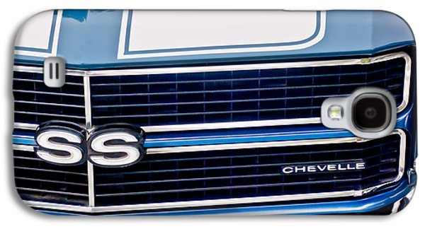 Imagery Galaxy S4 Cases - Chevrolet Chevelle SS Grille Emblem 2 Galaxy S4 Case by Jill Reger