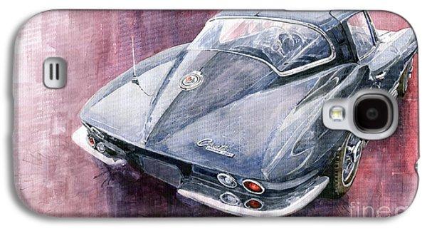 Chevrolet Corvette Sting Ray 1965 Galaxy S4 Case by Yuriy  Shevchuk