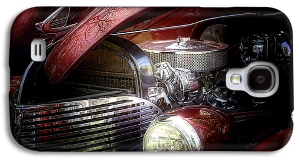 Car Hod Photographs Galaxy S4 Cases - Chevrolet Master Deluxe 1939 Galaxy S4 Case by Tom Mc Nemar