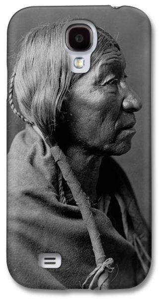 Braids Galaxy S4 Cases - Cheyenne Indian Woman circa 1910 Galaxy S4 Case by Aged Pixel
