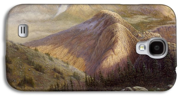 Western Art Digital Art Galaxy S4 Cases - Cheyenne Valley Wyoming Galaxy S4 Case by Gregory Perillo