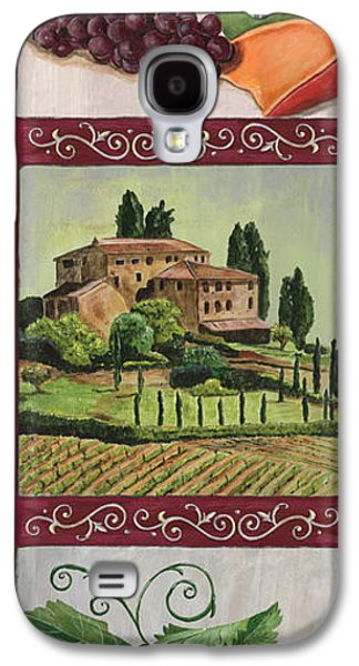 Vines Galaxy S4 Cases - Chianti and Friends Collage 1 Galaxy S4 Case by Debbie DeWitt