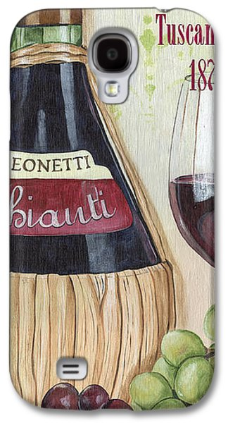 Italian Wine Paintings Galaxy S4 Cases - Chianti Classico Galaxy S4 Case by Debbie DeWitt