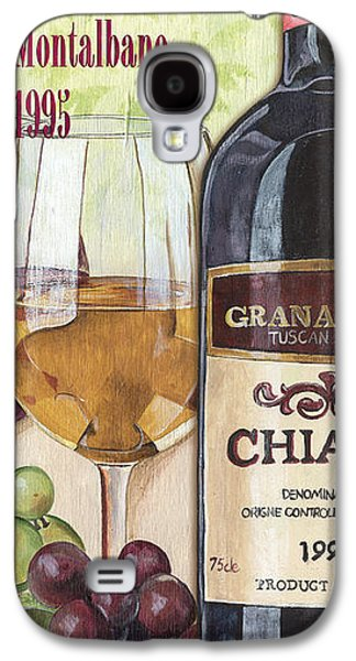 Italian Wine Paintings Galaxy S4 Cases - Chianti Rufina Galaxy S4 Case by Debbie DeWitt