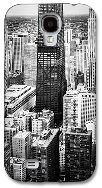 Chicago Aerial Vertical Panoramic Picture Galaxy S4 Case by Paul Velgos