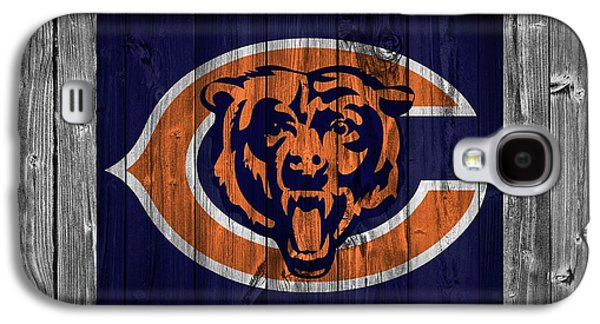 Old Barns Galaxy S4 Cases - Chicago Bears Barn Door Galaxy S4 Case by Dan Sproul
