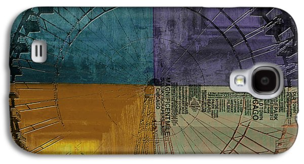 Chicago City Collage 3 Alternative Galaxy S4 Case by Corporate Art Task Force