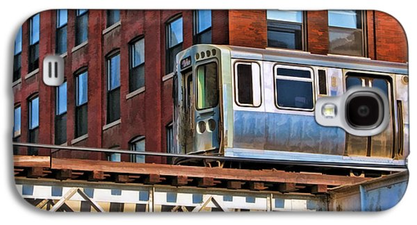 Chicago El And Warehouse Galaxy S4 Case by Christopher Arndt