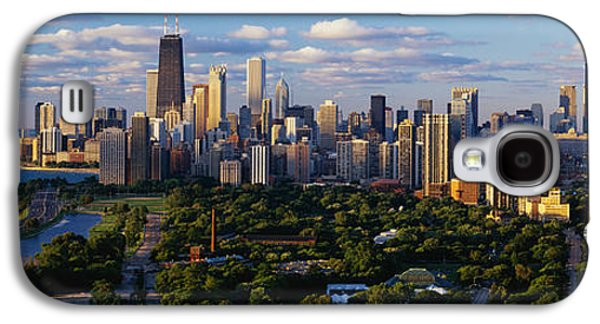 Image Photographs Galaxy S4 Cases - Chicago Il Galaxy S4 Case by Panoramic Images