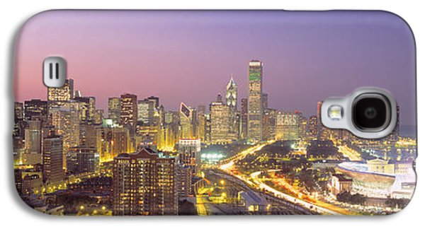 Soldier Field Galaxy S4 Cases - Chicago, Illinois, Usa Galaxy S4 Case by Panoramic Images