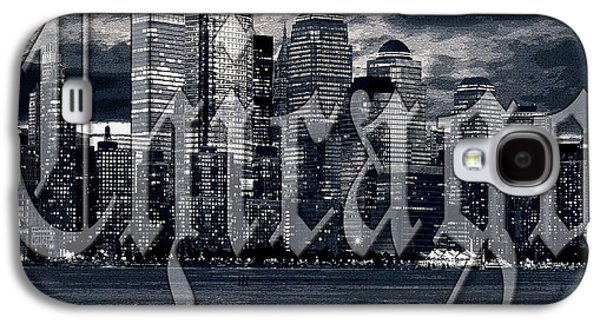 Chicago Galaxy S4 Cases - Chicago Galaxy S4 Case by Marvin Blaine