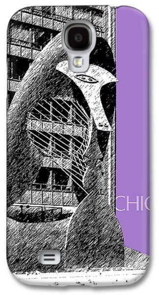 Mid-century Modern Decor Digital Galaxy S4 Cases - Chicago Pablo Picasso - Violet Galaxy S4 Case by DB Artist