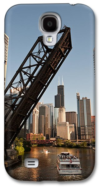 Chicago River Traffic Galaxy S4 Case by Steve Gadomski