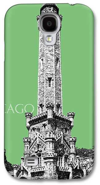 Illinois Print Digital Art Galaxy S4 Cases - Chicago Water Tower - Apple Galaxy S4 Case by DB Artist