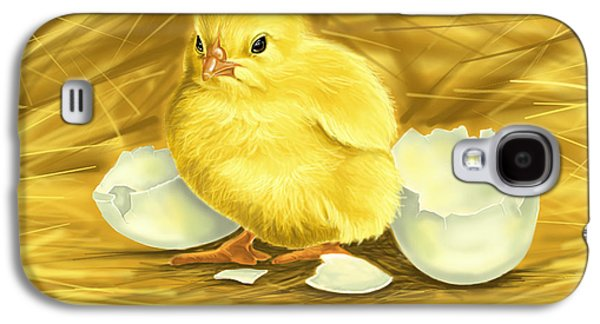 Chicks Galaxy S4 Cases - Chick Galaxy S4 Case by Veronica Minozzi