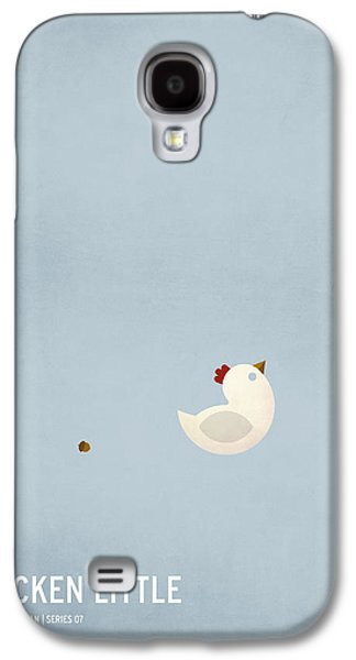 Theory Galaxy S4 Cases - Chicken Little Galaxy S4 Case by Christian Jackson