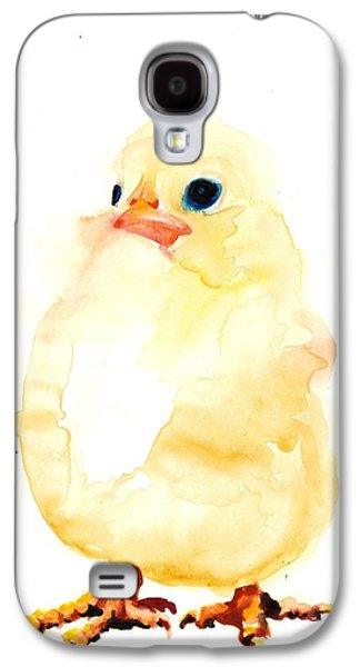 Het Paintings Galaxy S4 Cases - Chickens Watercolor - Peeper  Galaxy S4 Case by Tiberiu Soos