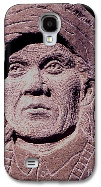Native Sculptures Galaxy S4 Cases - Chief-Cochise-2 Galaxy S4 Case by Gordon Punt