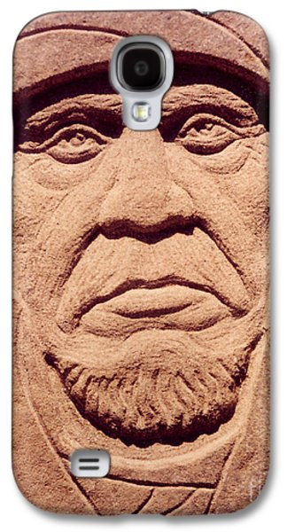 Native Sculptures Galaxy S4 Cases - Chief-Keokuk Galaxy S4 Case by Gordon Punt
