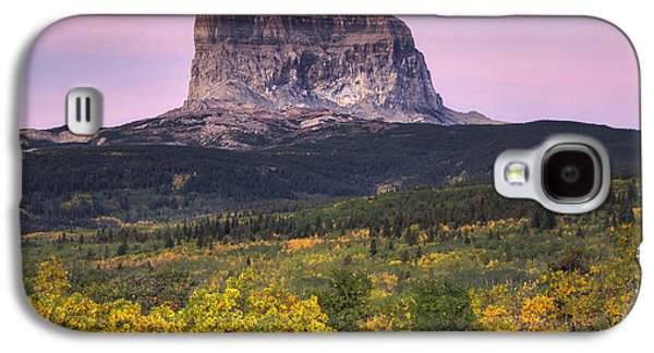 Chief Mountain Sunrise Galaxy S4 Case by Mark Kiver